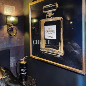 CHanel-CHIQUe-Art-Gold-CHIQUE-COncept-CHIQUE Interieurs