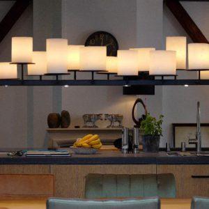 Stout verlichting candle fusion bij chique interieurs