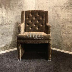 Luxe eetkamerstoel lana - CHIQUE Concept - maatwerk stoel