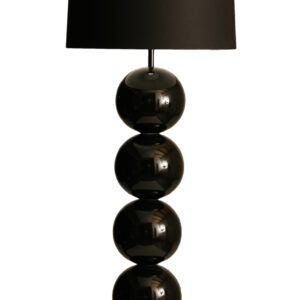 CHIQUE Interieurs - Stout Verlichting - Milano vloerlamp 5 bollen - Zwart