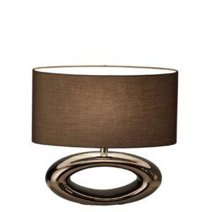 CHIQUE Interieurs - Stout Verlichting - Daytona Ovaal tafellamp - Rose Bronze Glans