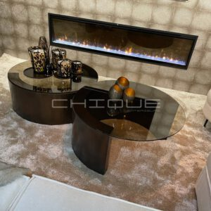 Dimplex ignite sfeerhaard 74 inch - CHIQUE Interieurs cinewall