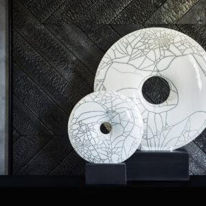 CHIQUE Art Collection - Sculpture The Crackle Object