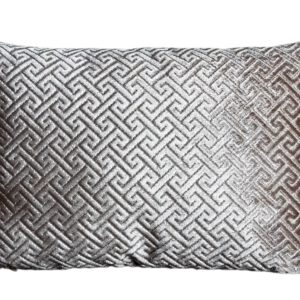 CHIQUE Concept pillow - luxe sierkussen greek key gold S 50x35cm