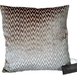 CHIQUE Concept pillow - luxe sierkussen zigzag gold M 45x45cm