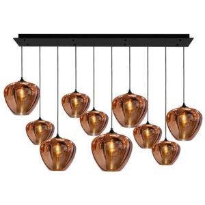 CHIQUE Interieurs - Maretti lighting hanglamp tulip 10 koper