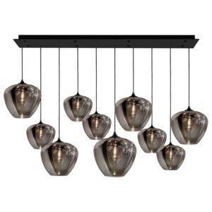 CHIQUE Interieurs - Maretti lighting hanglamp tulip 10 smoked glasses