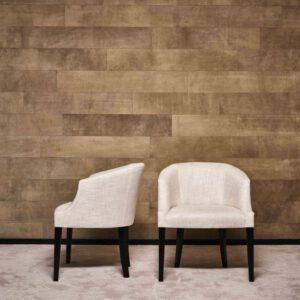 Carlton hoge rug - eetkamerstoel - Eric Kuster Metropolitan Luxury