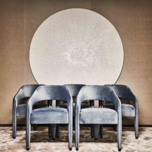 Waldorf - eetkamerstoel - Eric Kuster Metropolitan Luxury