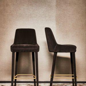 belmond barkruk - hoge eetkamerstoel - Eric Kuster Metropolitan Luxury